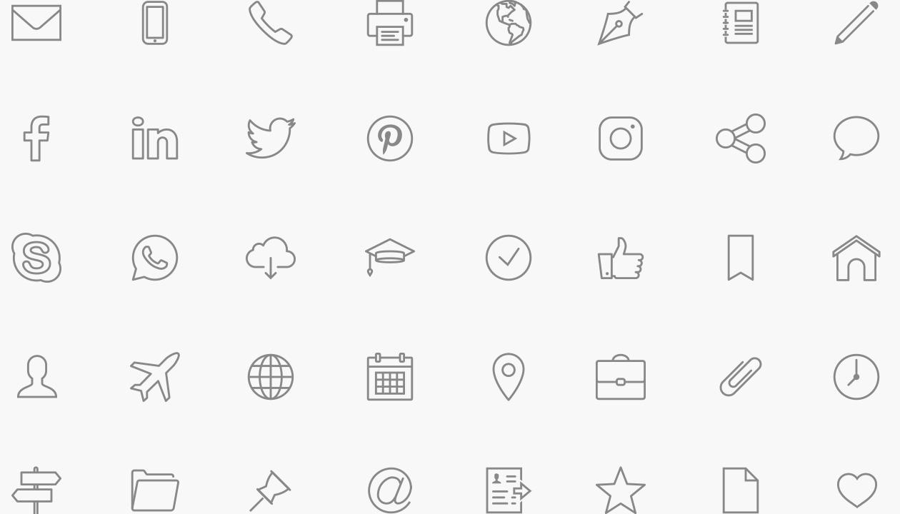 icones-modele-de-cv-professionnel-telecharger