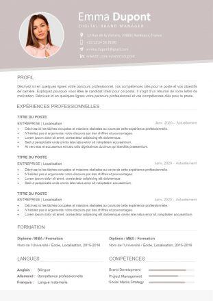 modele-de-cv-barcelone-pret-a-remplir-word-207a