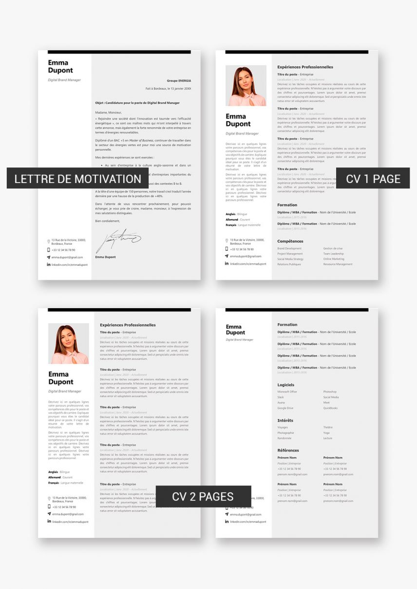 template-cv-hong-kong-telecharger-payant